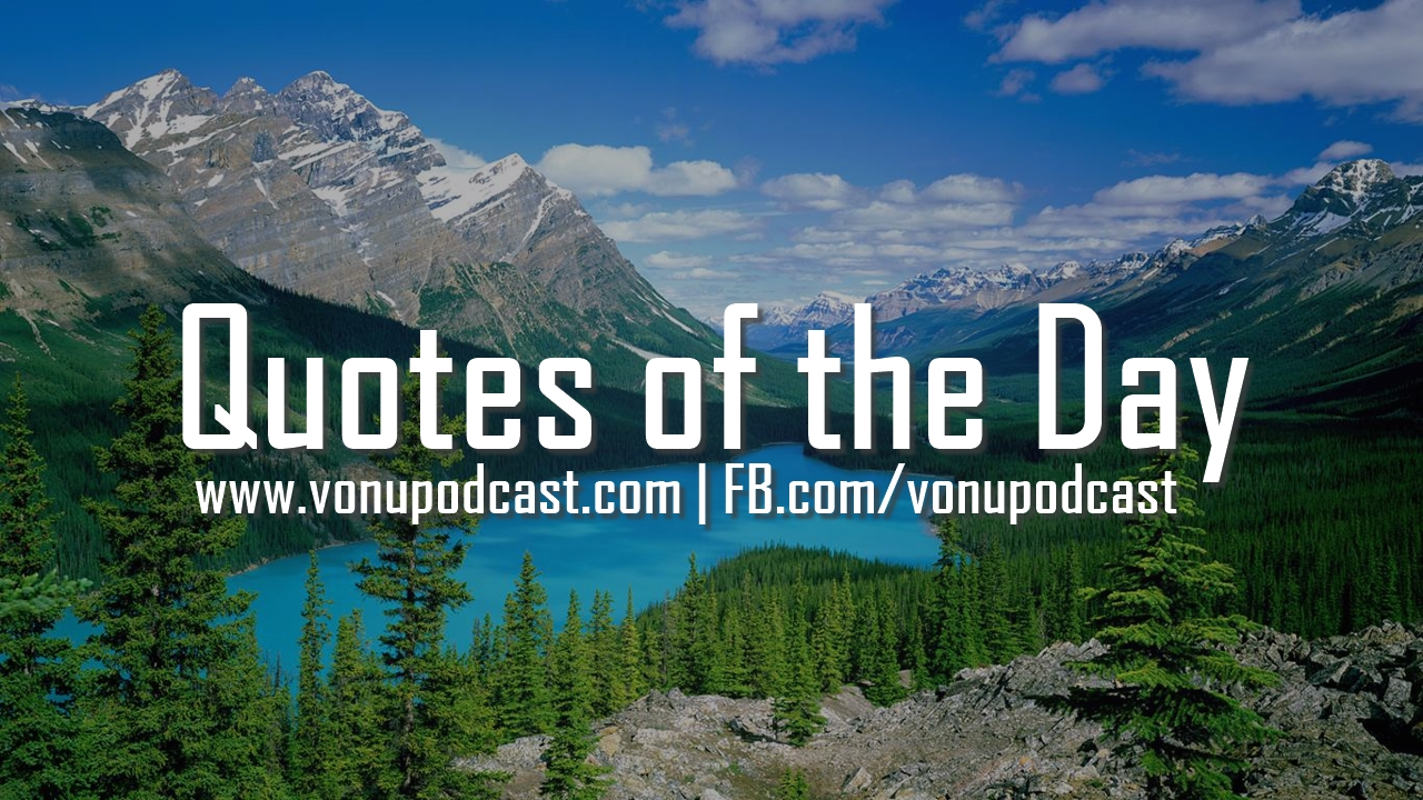 Rayo and Vonu: Quotes of the Day