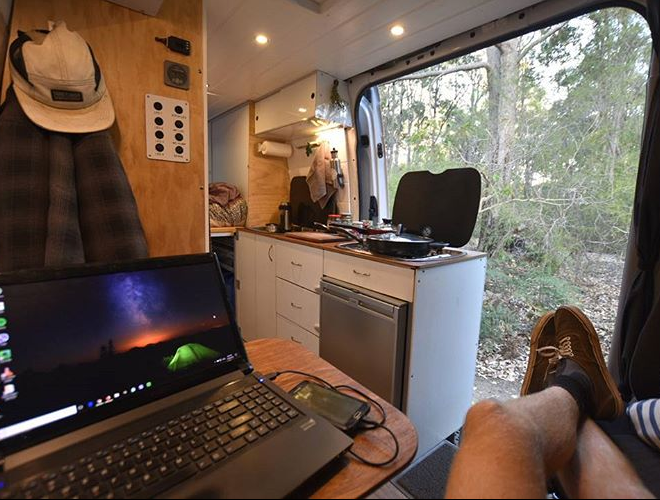 TVP Interviews #3: Van Builds & The Liberating Nature of the Blockchain with Karl, A Van Nomad From Australia