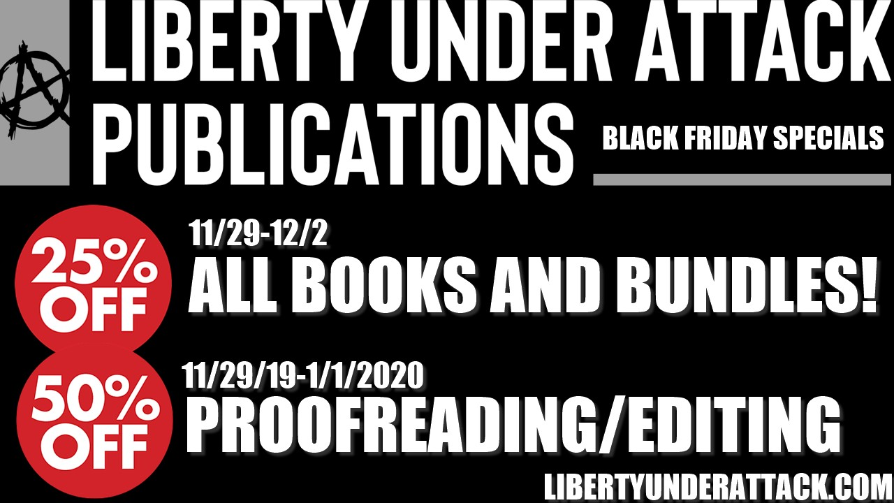 Liberty Under Attack Publications holiday specials!