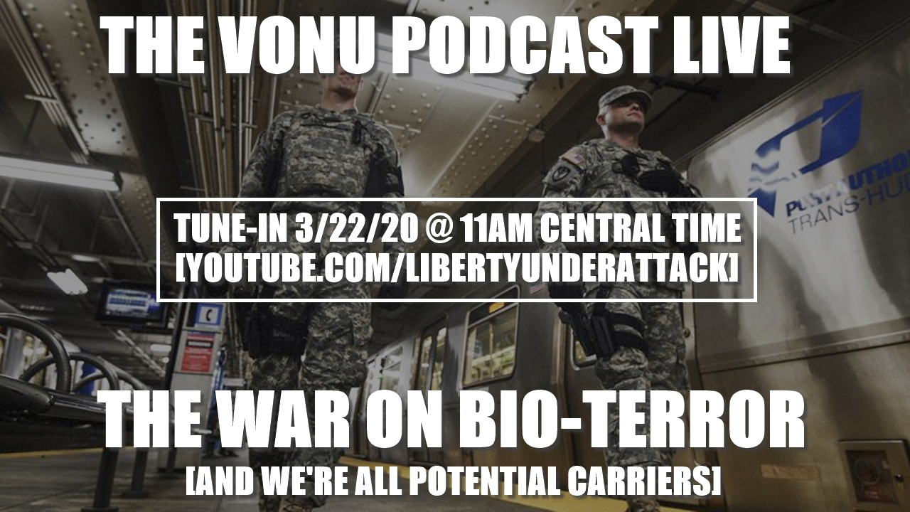 TVP Intermission #37: The War on BioTerror (And We're All Potential Carriers)