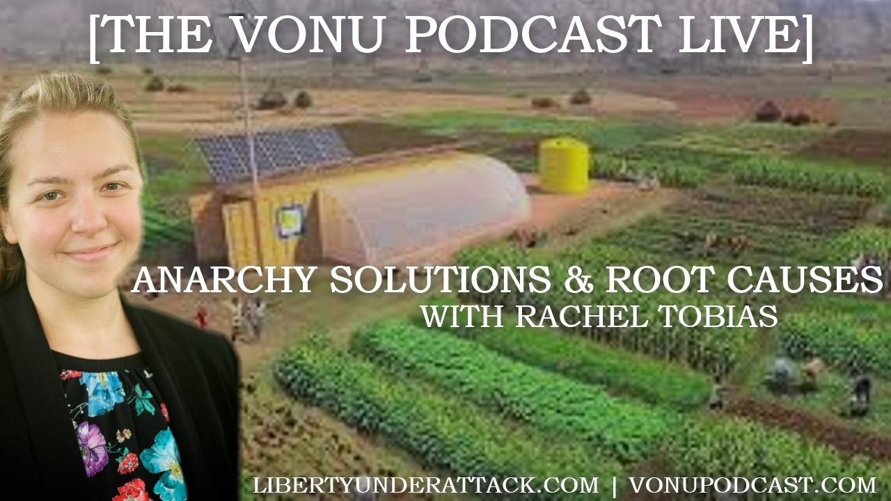 TVP Intermission #40: Anarchy Solutions and Root Causes with Rachel Tobias