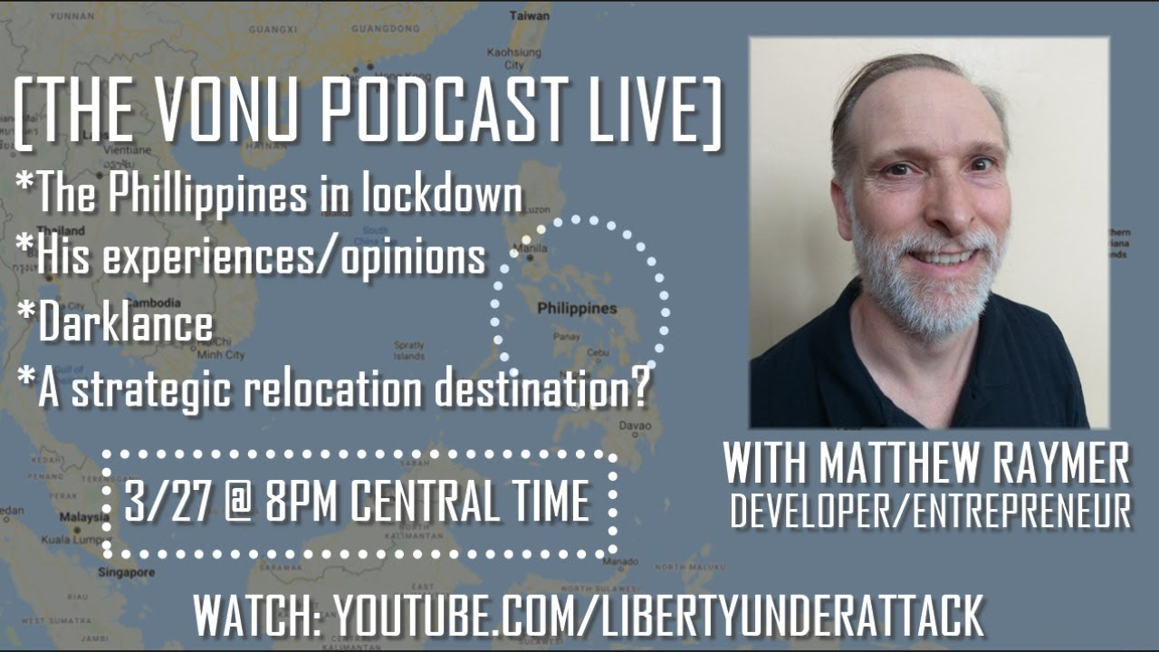TVP Intermission #39: The Philippines in Lockdown/ContentSafe.co with Matthew Raymer