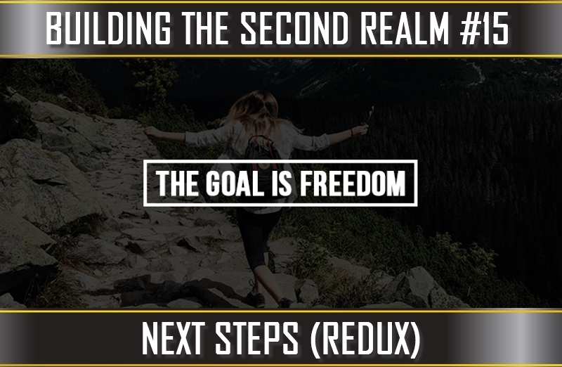 TVP #82 [BUILDING THE SECOND REALM #9]: Next Steps (Action Items/Redux)