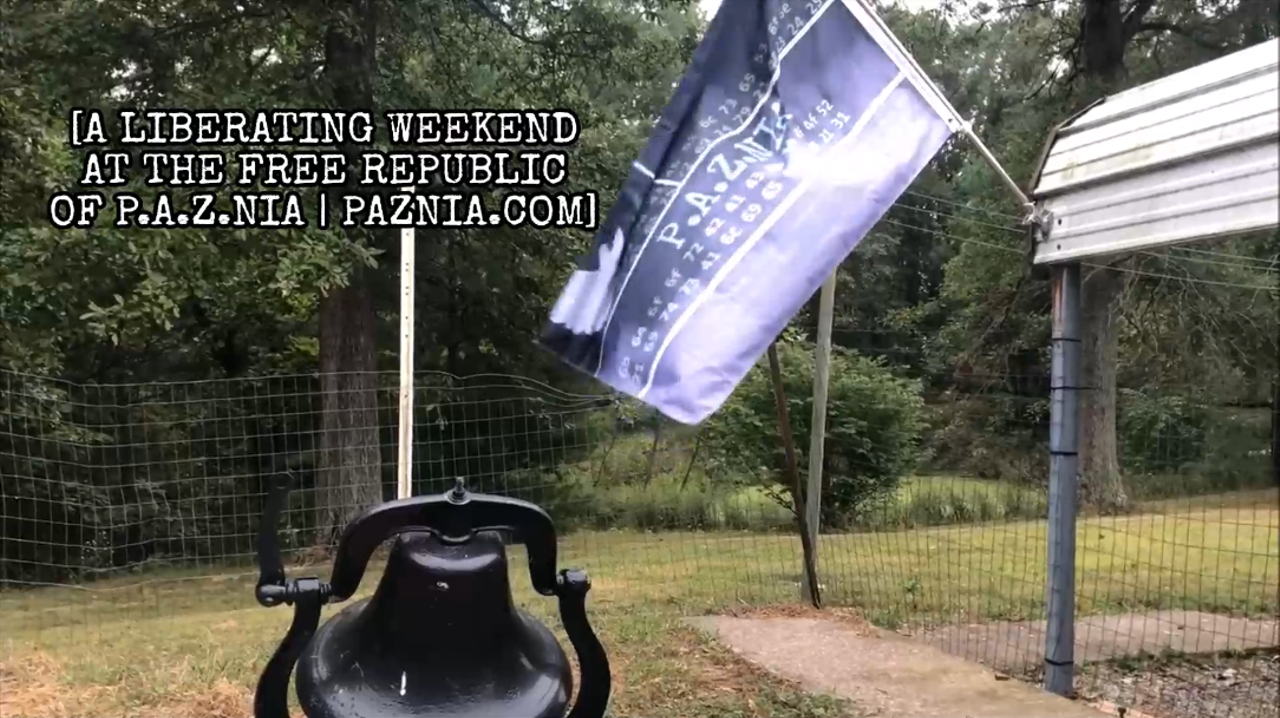 A LIBERATING WEEKEND AT THE FREE REPUBLIC OF P.A.Z.NIA [VIDEO]