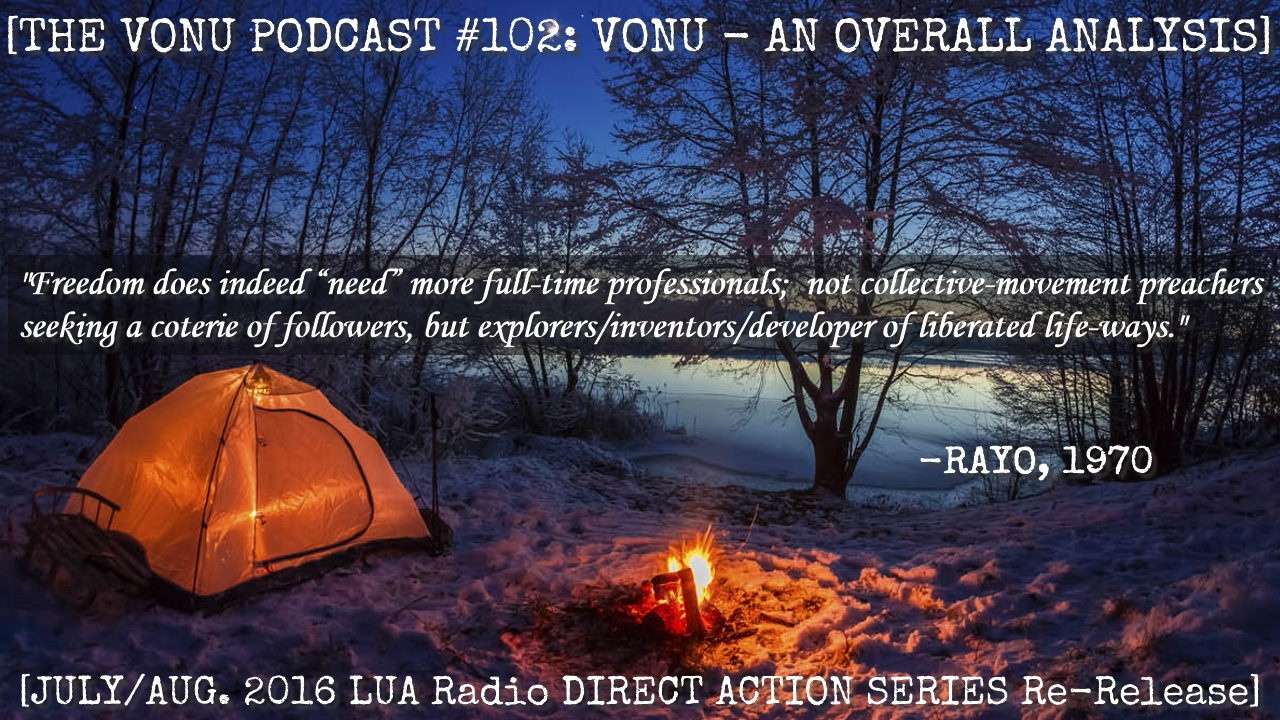 TVP #102: [VONU] An Overall Analysis w/ Kyle (LUA Radio Direct Action Series Re-Release)