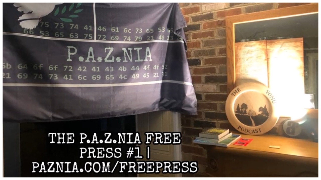 P.A.Z.NIA Free Press #1: Secret Space Program & Bitcoin General Fund [PODCAST/VIDEO]